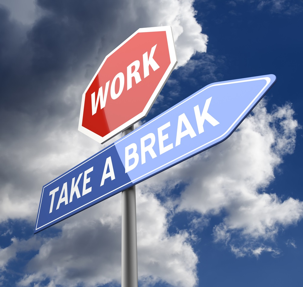 work take a break